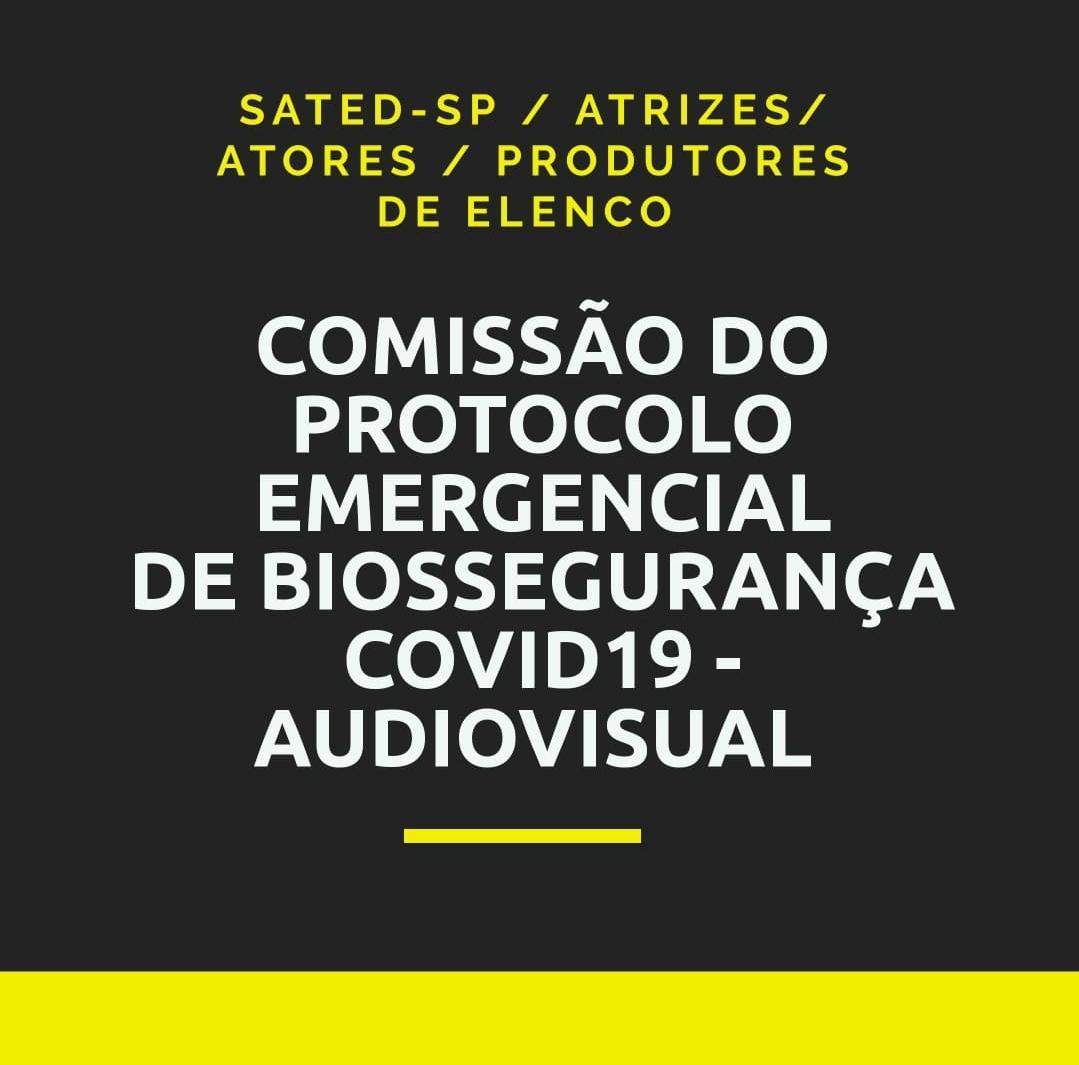 Comissão do Protocolo Emergencial de Biossegurança COVID19  – Audiovisual