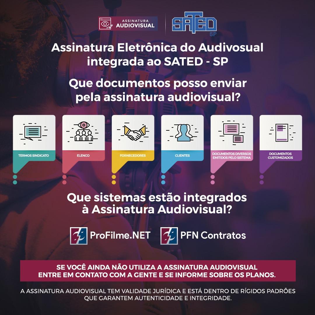 Contratos Audiovisual Online: Parceria com a Profilme.net