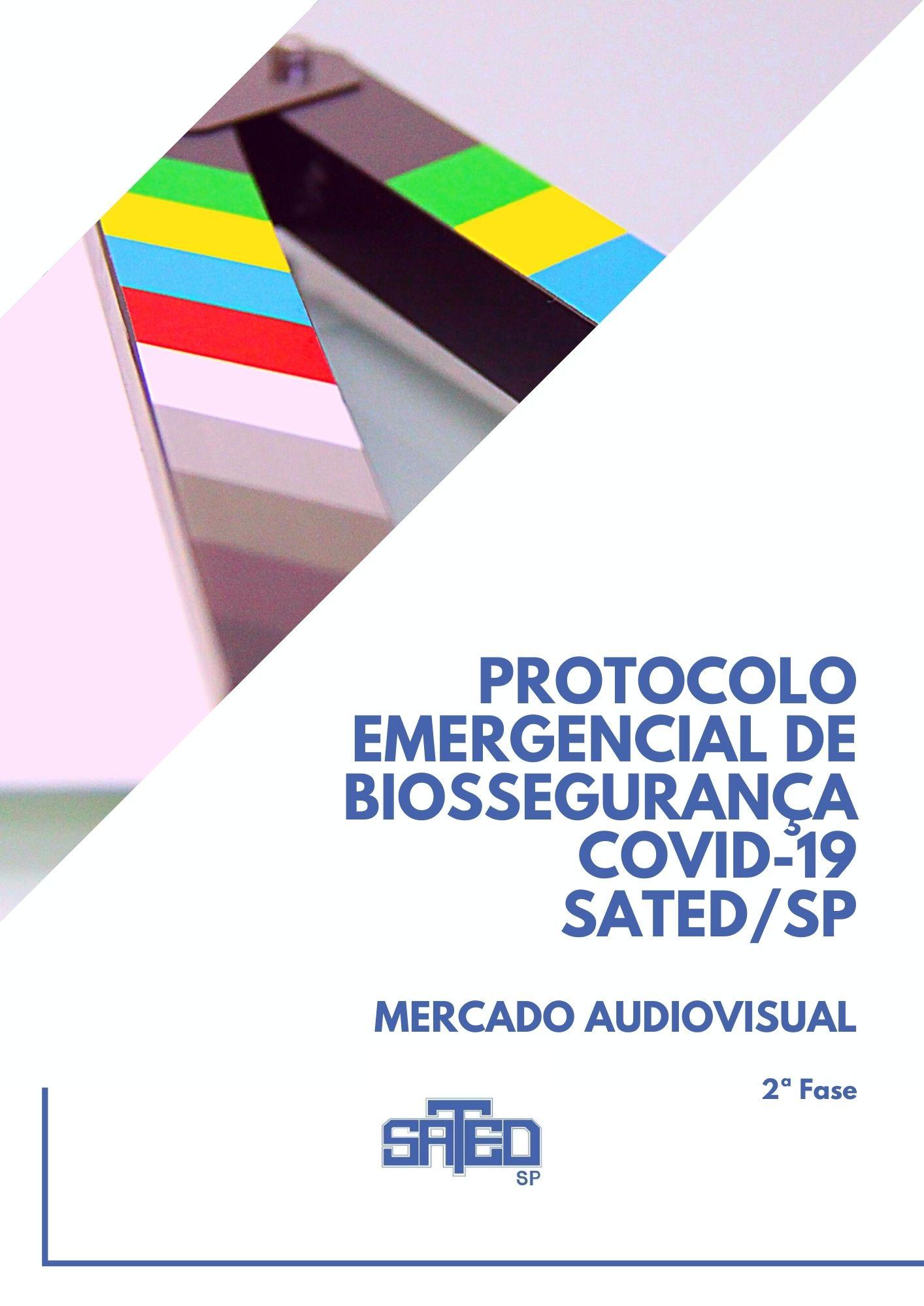 Protocolo Covid 19 – 2ª fase / Elenco Audiovisual