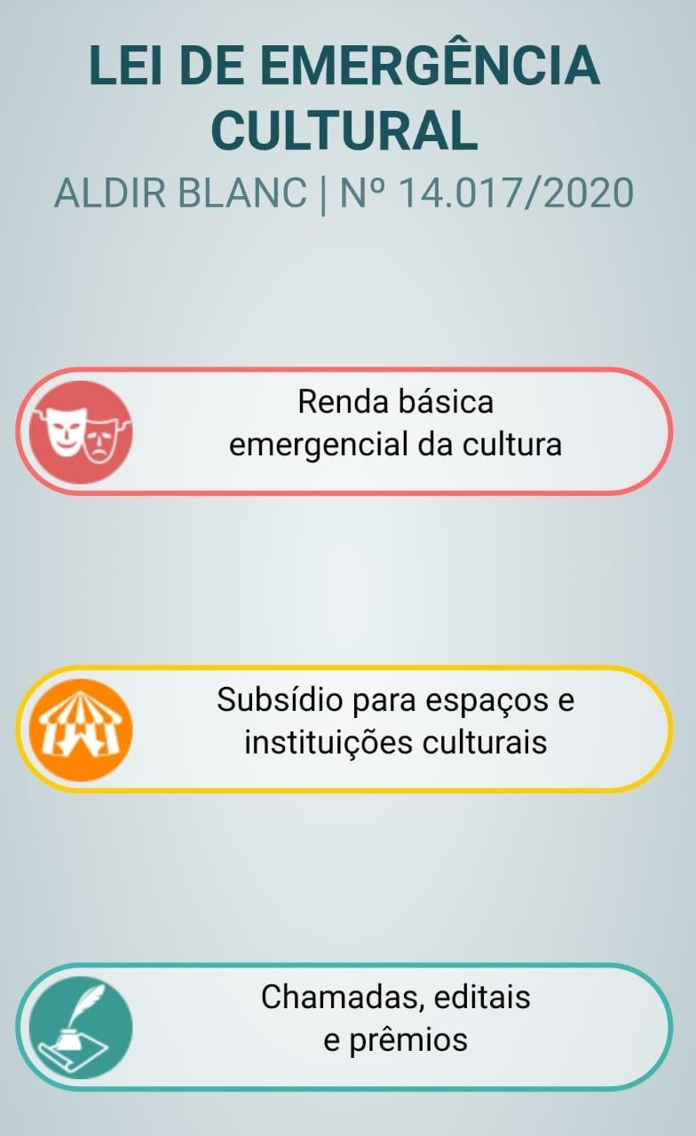 Cadastramento da LEI ALDIR BLANC pela Secretaria do Estado de São Paulo vai até dia 18/10