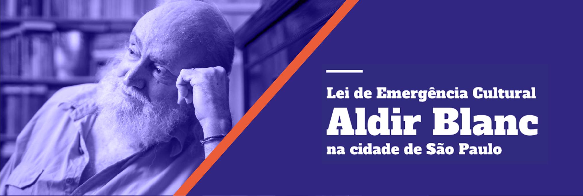 Abertura dos editais da Lei Aldir Blanc para a cidade de SP vai até dia 11/10